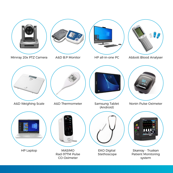 Integrated Telehealth Peripherals